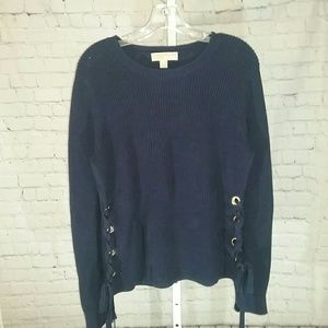 Michael Kors Grommet Side Sweater.
